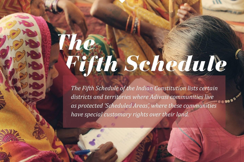 ভারতীয় সংবিধানের পঞ্চম তফশিল বা Fifth Schedule of Indian Constitution।
