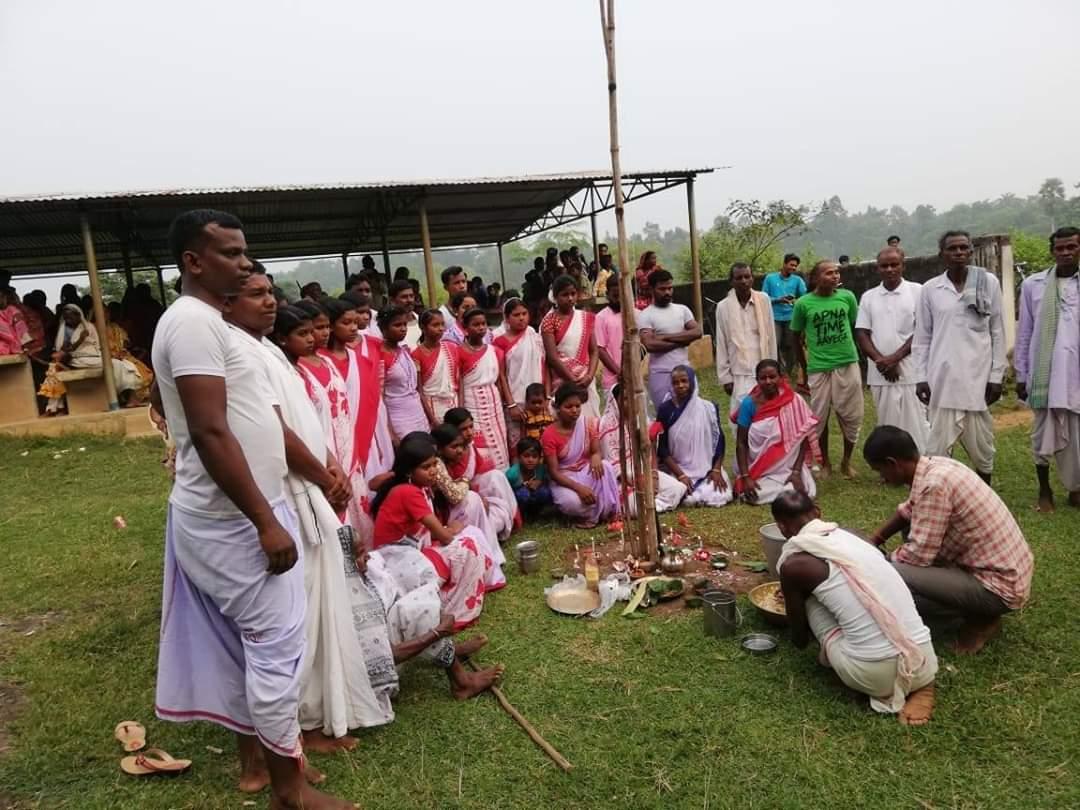 ভূমিজ ভাষা স্কুলের শুভ শুচনা |