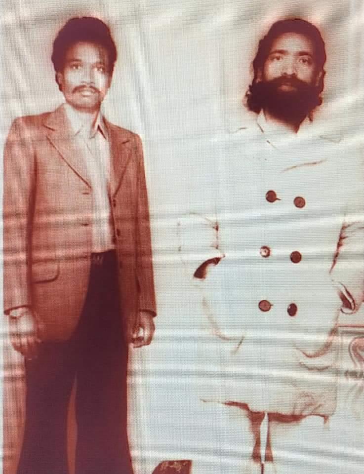 দিশম গুরু শিবু সরেন ও তাঁর প্রিয় বন্ধু ধান সিং মুণ্ডারি|