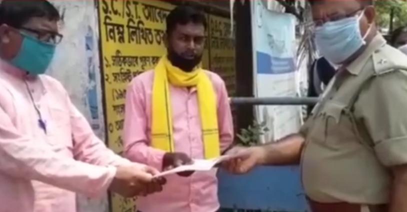 ঝাড়গ্রাম জেলার ব্লক আধিকারিকদের কাছে ১৯ দফা দাবী সনদ পেশ সর্বভারতীয় কৃষক মঞ্চের|